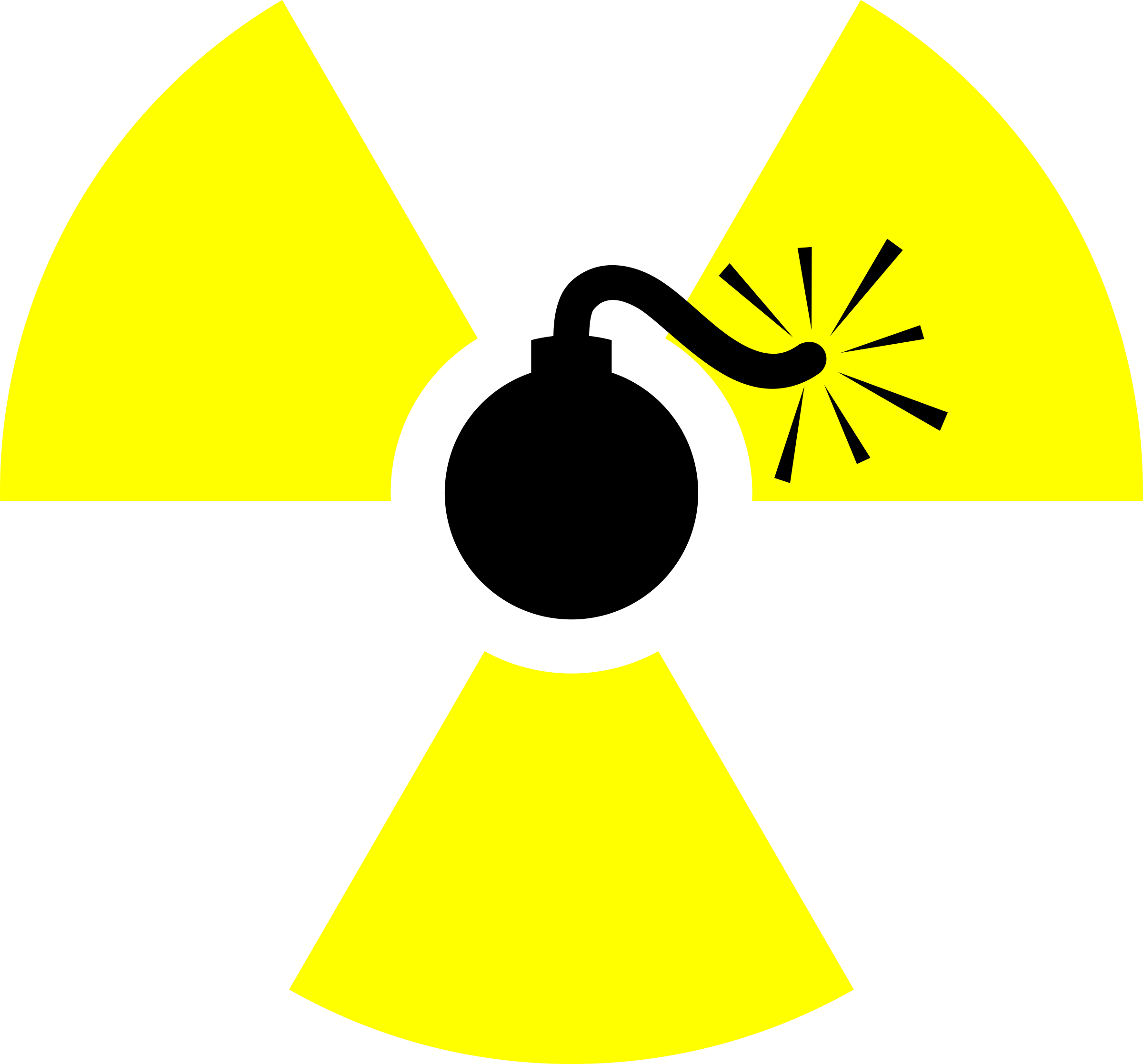 Atomic Bomb By Worker