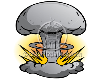 Atomic Bomb Clip Art Atomic Bomb Graphics Clipart Atomic Bomb