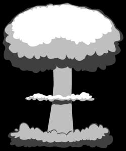 ... atomic bomb - Clipartix; Nuclear Explosion Clip Art - vector clip art online .. ...