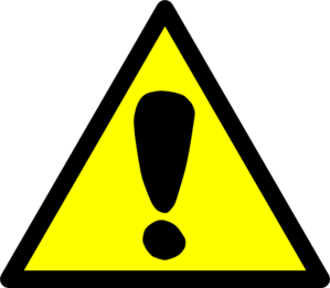 Attention Sign Clip Art - Attention Clipart
