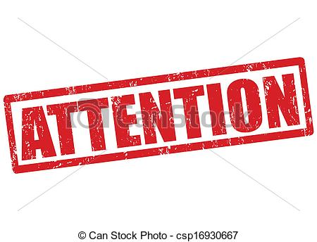 Attention stamp - csp16930667 - Attention Clipart