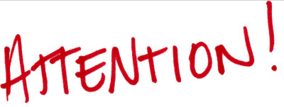 Clipart Attention Sign Image - Attention Clipart