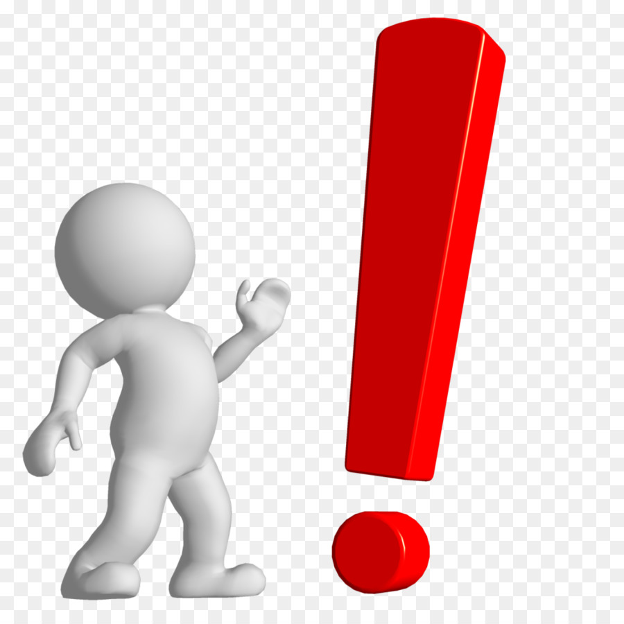 Exclamation mark Question mar - Attention Clipart