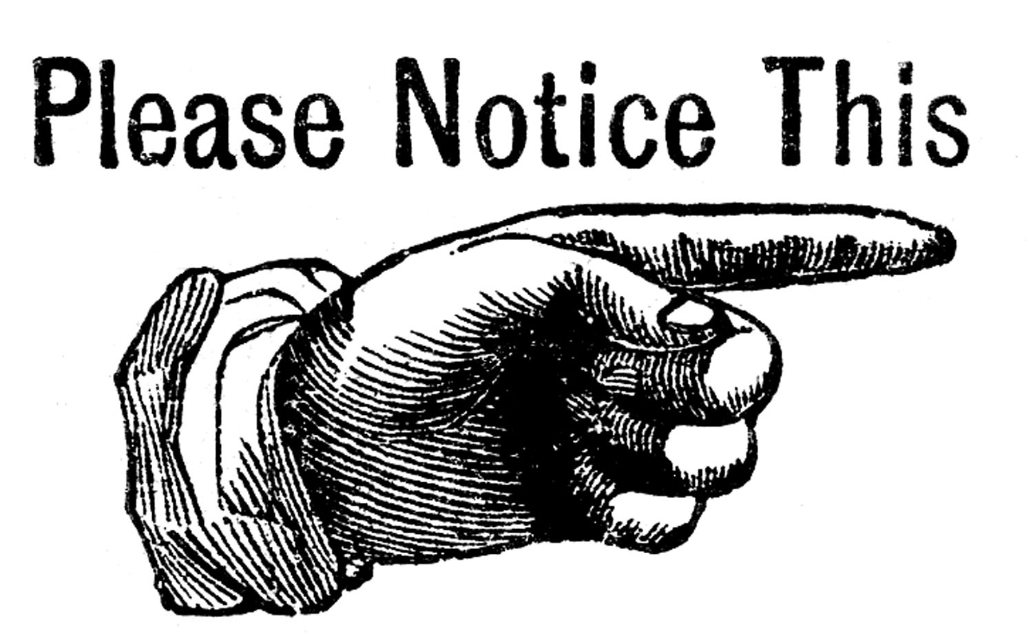 Your Attention Please Clipart - Attention Clipart