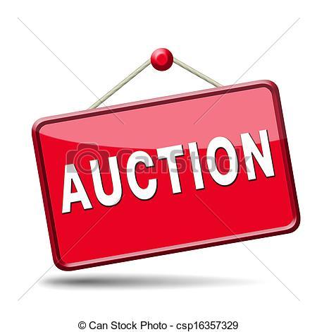 auction icon - csp16357329