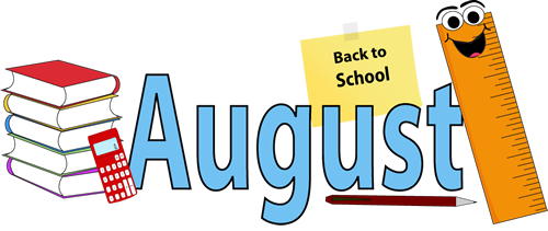 August Clip Art Free Cliparts Co