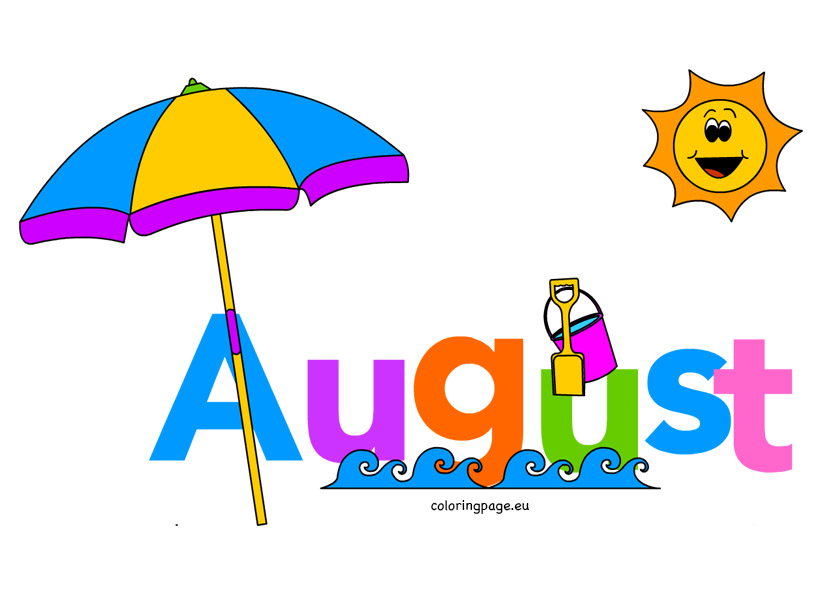 August clipart free clipart i