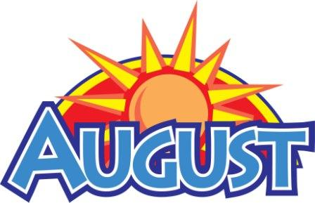 August clipart free clip art images image 3
