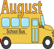 August school bus