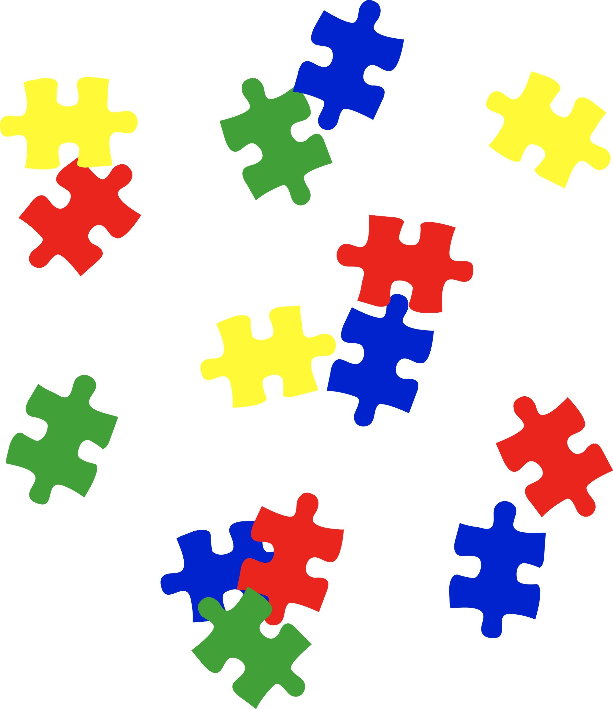 Autism puzzle clipart