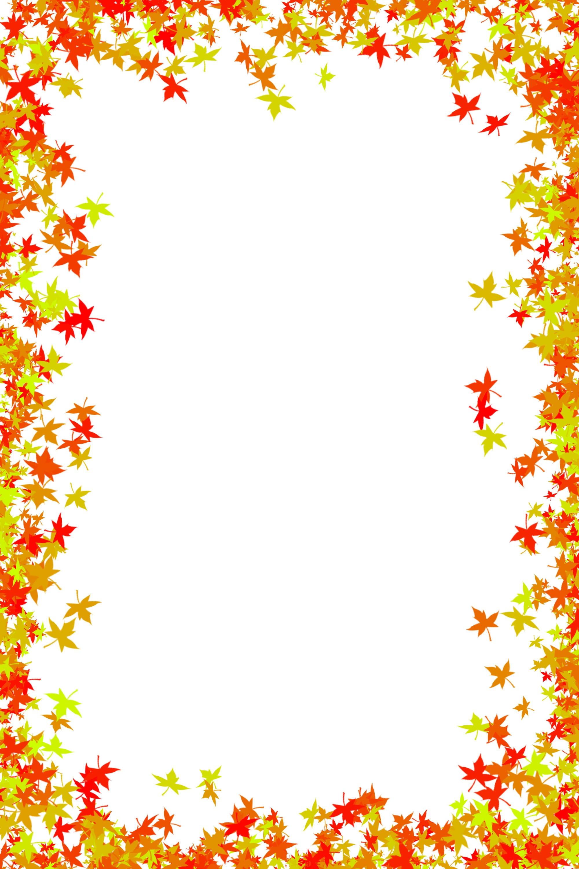 Autumn border clip art - ClipartFest
