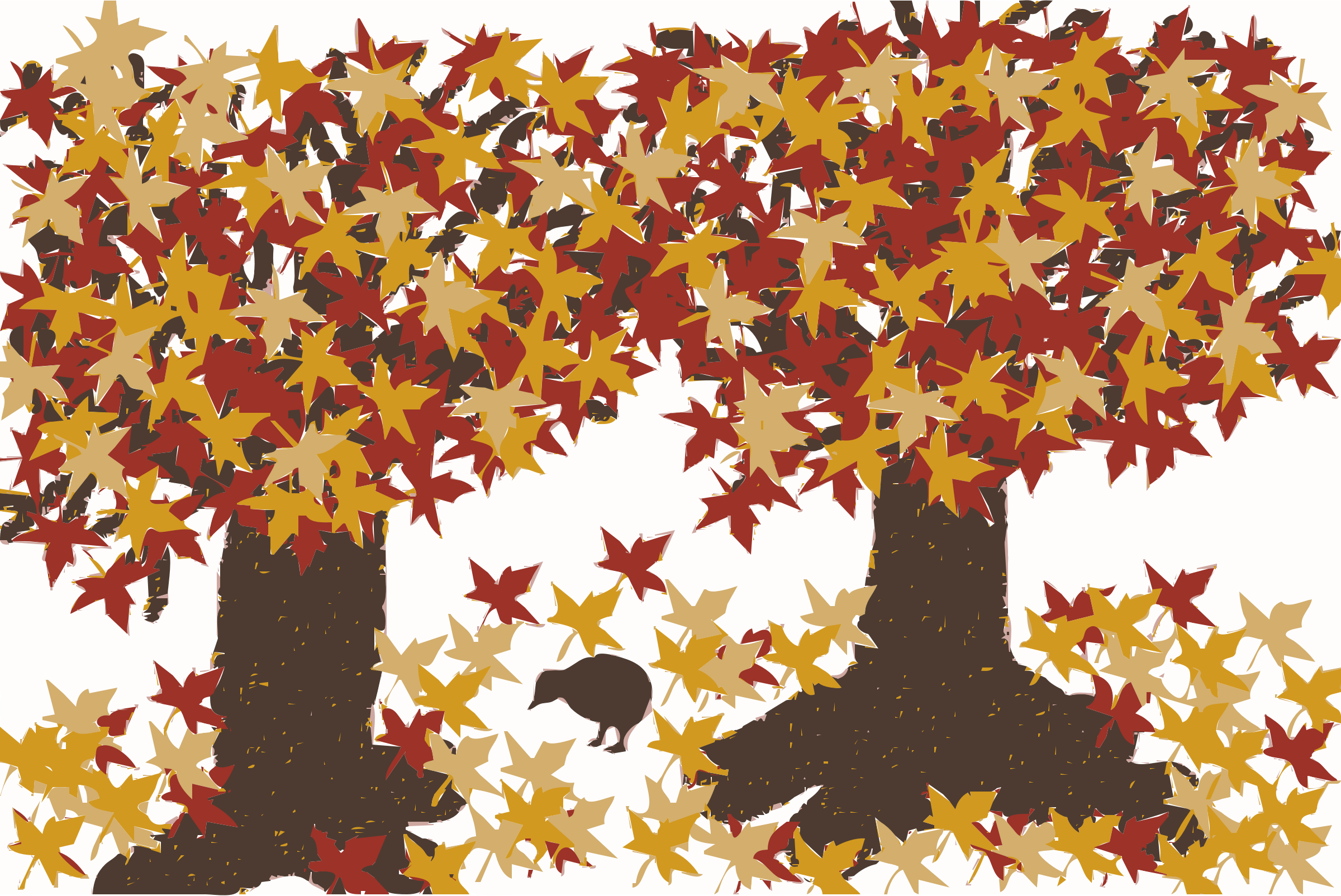 Autumn Tree Clip Art 67