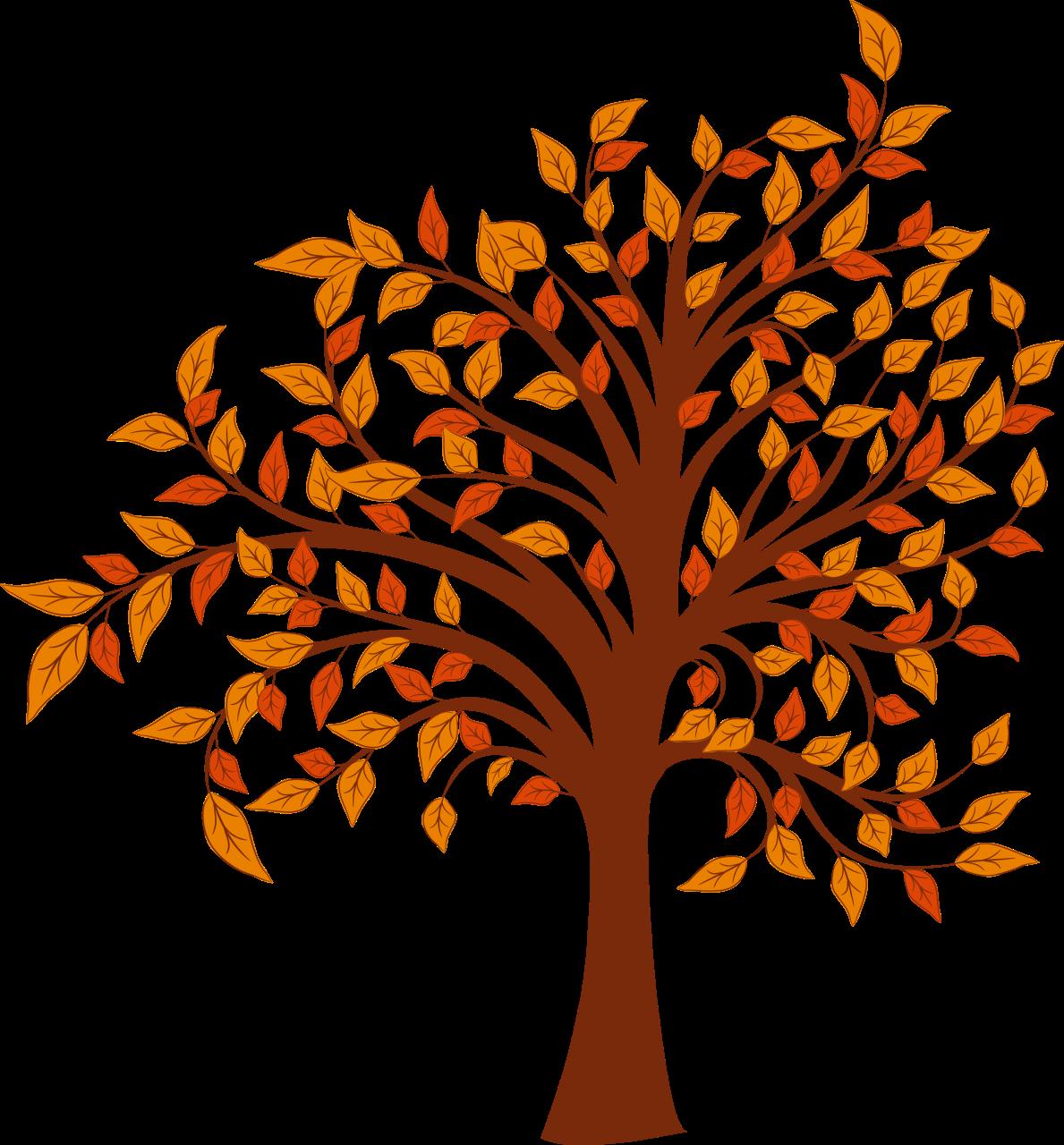 Autumn tree clipart - .