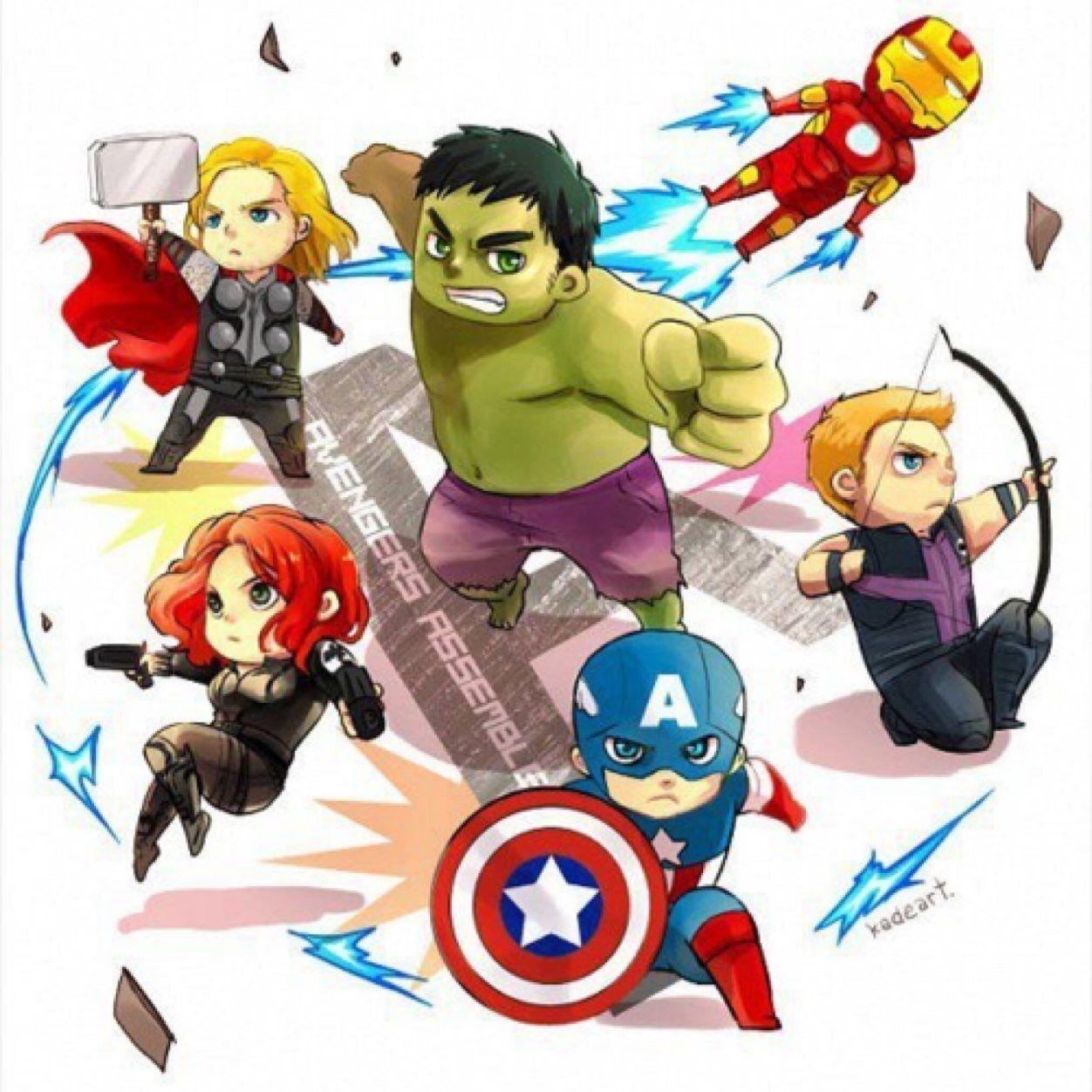 Avengers clipart