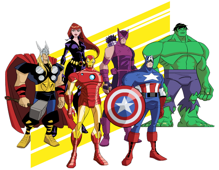 Free Avengers Clip Art Clipart