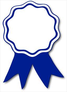 award-ribbon-blue