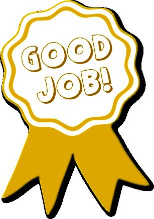 good job medal clipart