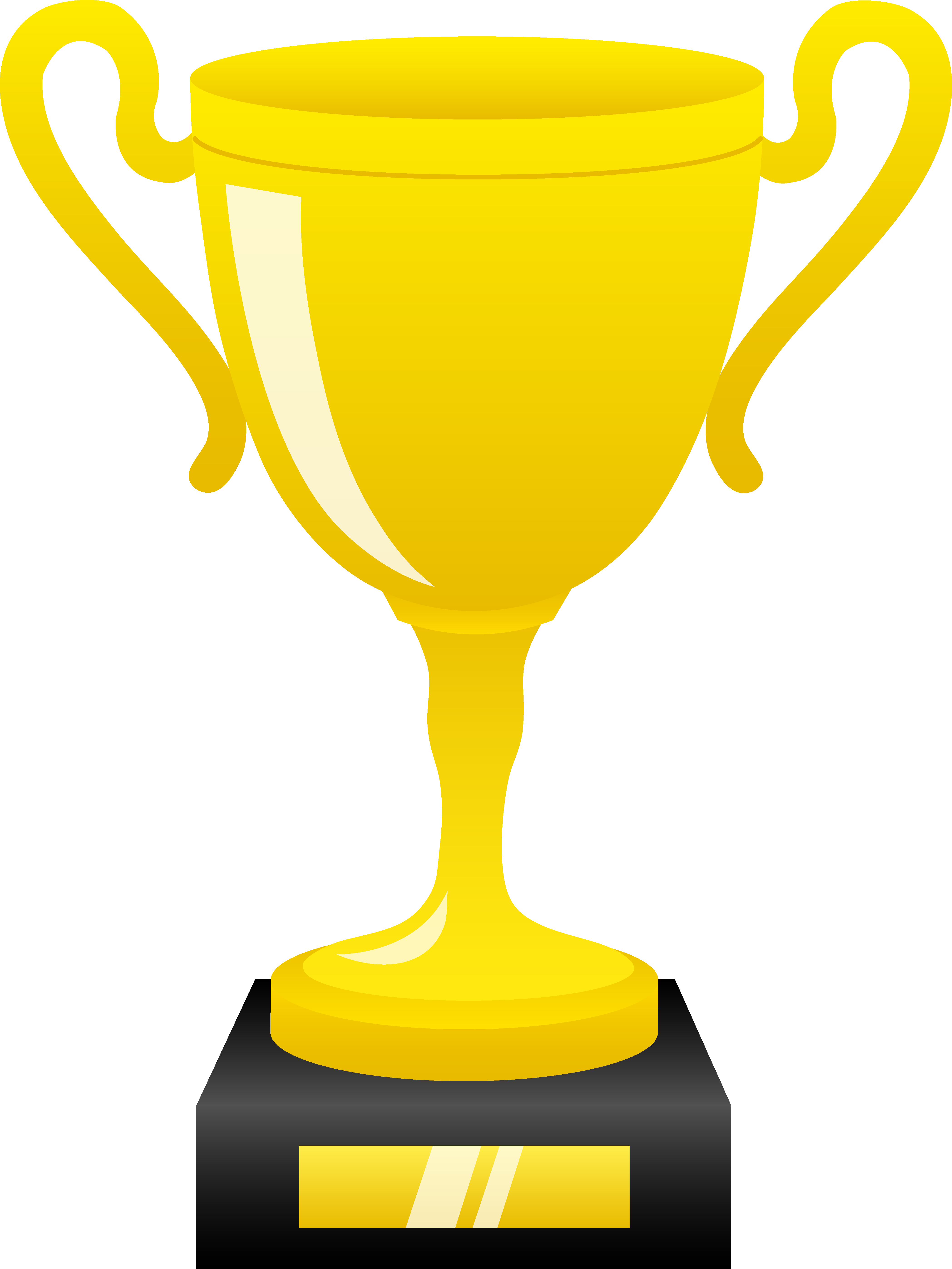 ... Award trophy clipart ...