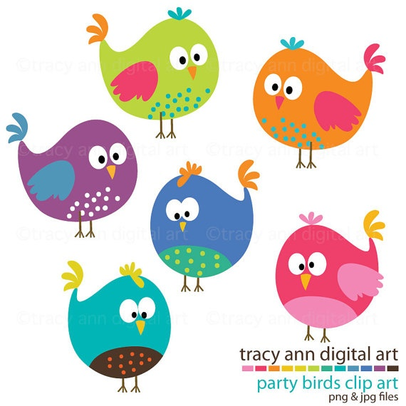 Baby Bird Clipart... i see this incorporated in so many things.