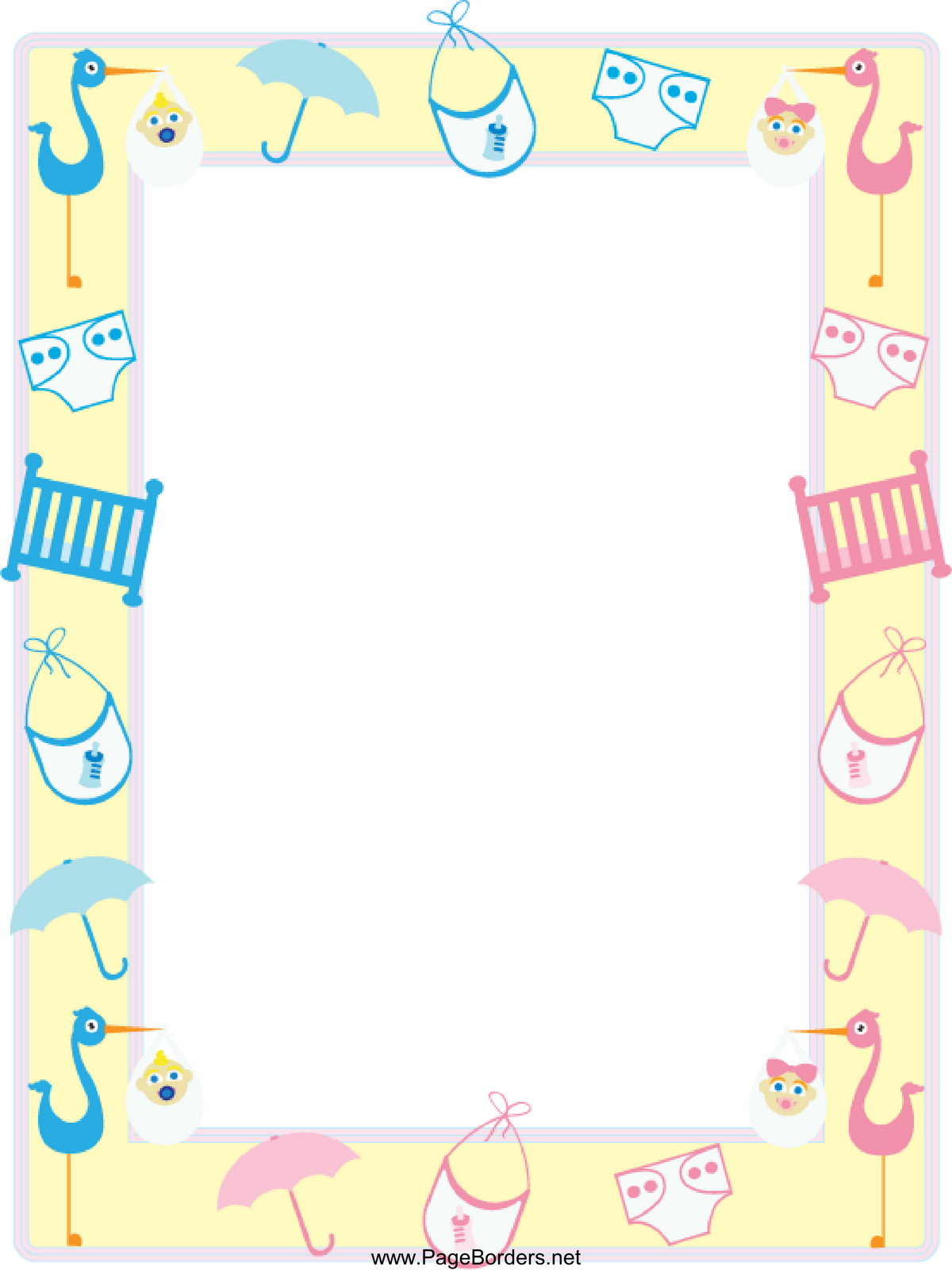 Baby Borders Free Cliparts That You Can Download To You Computer And