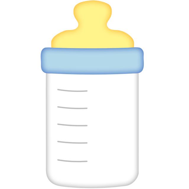... Baby bottle clipart 5 ...