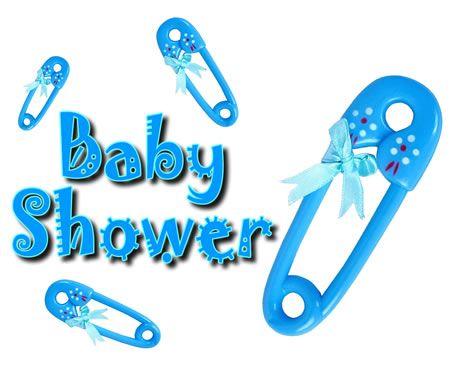 Baby boy baby shower clipart .