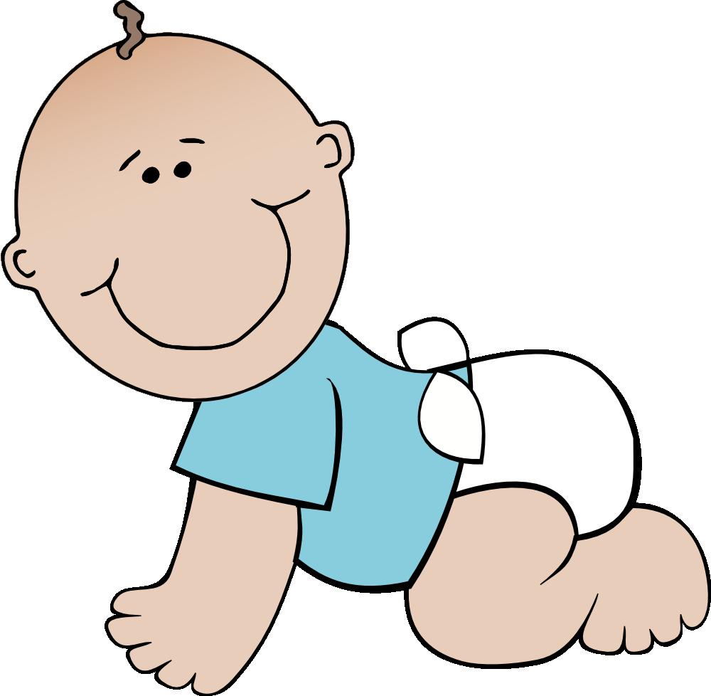 Baby boy clipart 6