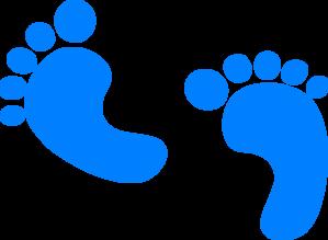 Baby boy foot clip art clipart