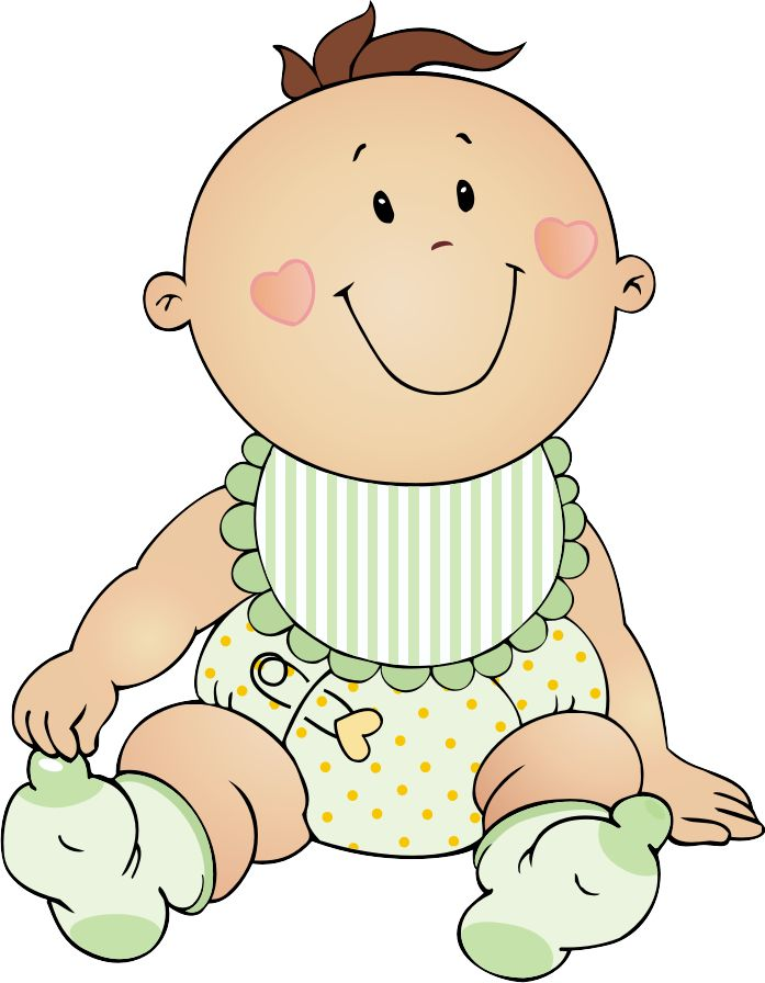 Baby christmas clipart