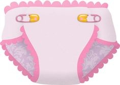 Baby diapers for girl (pink .