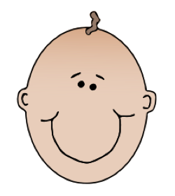 Baby Face - ClipArt Best .