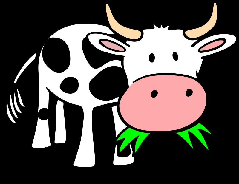 Baby Farm Animal Clipart ... baby cow clipart