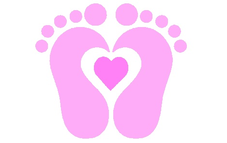 Baby Feet Free Clipart #1
