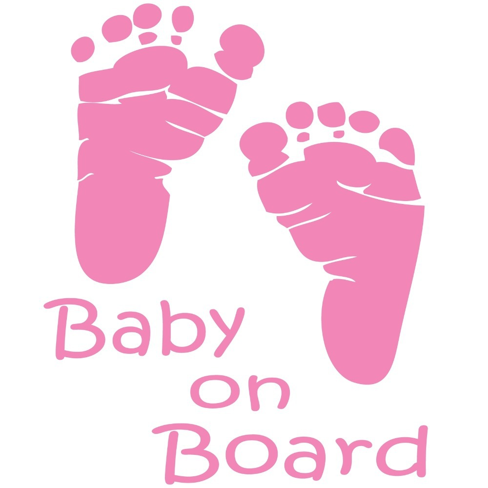Feet clipart baby on board #1