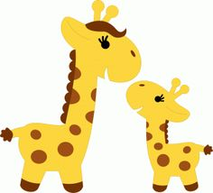 Baby giraffe clip art - .