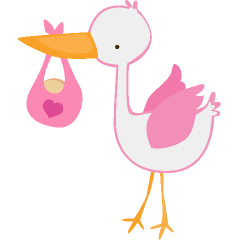 Baby girl clip art free clipart image 2