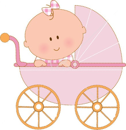 Baby girl free baby clipart .