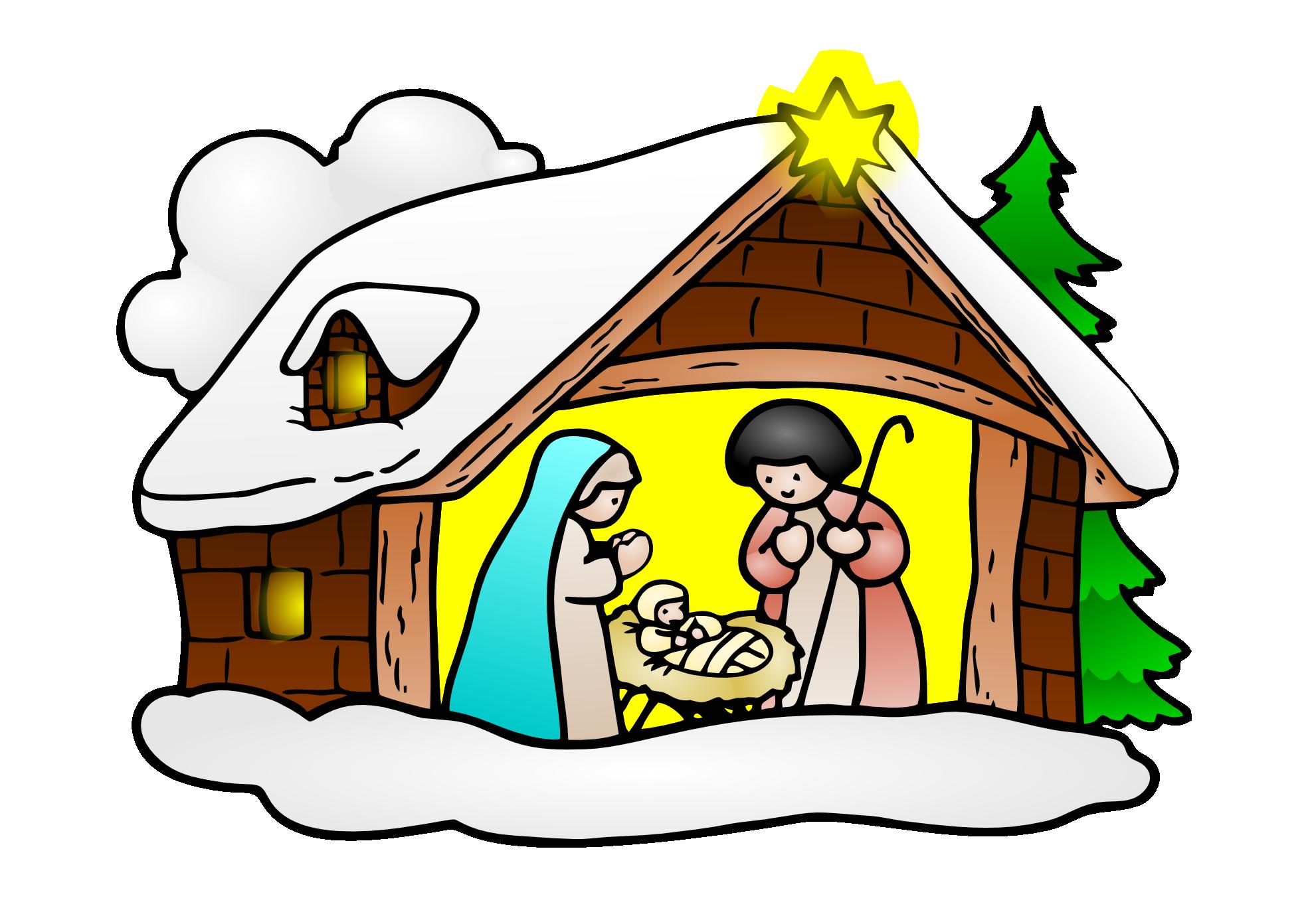 ... Baby Jesus Birth Clipart ...