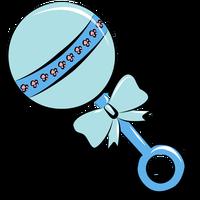 Baby rattle clip art. finalist clipart
