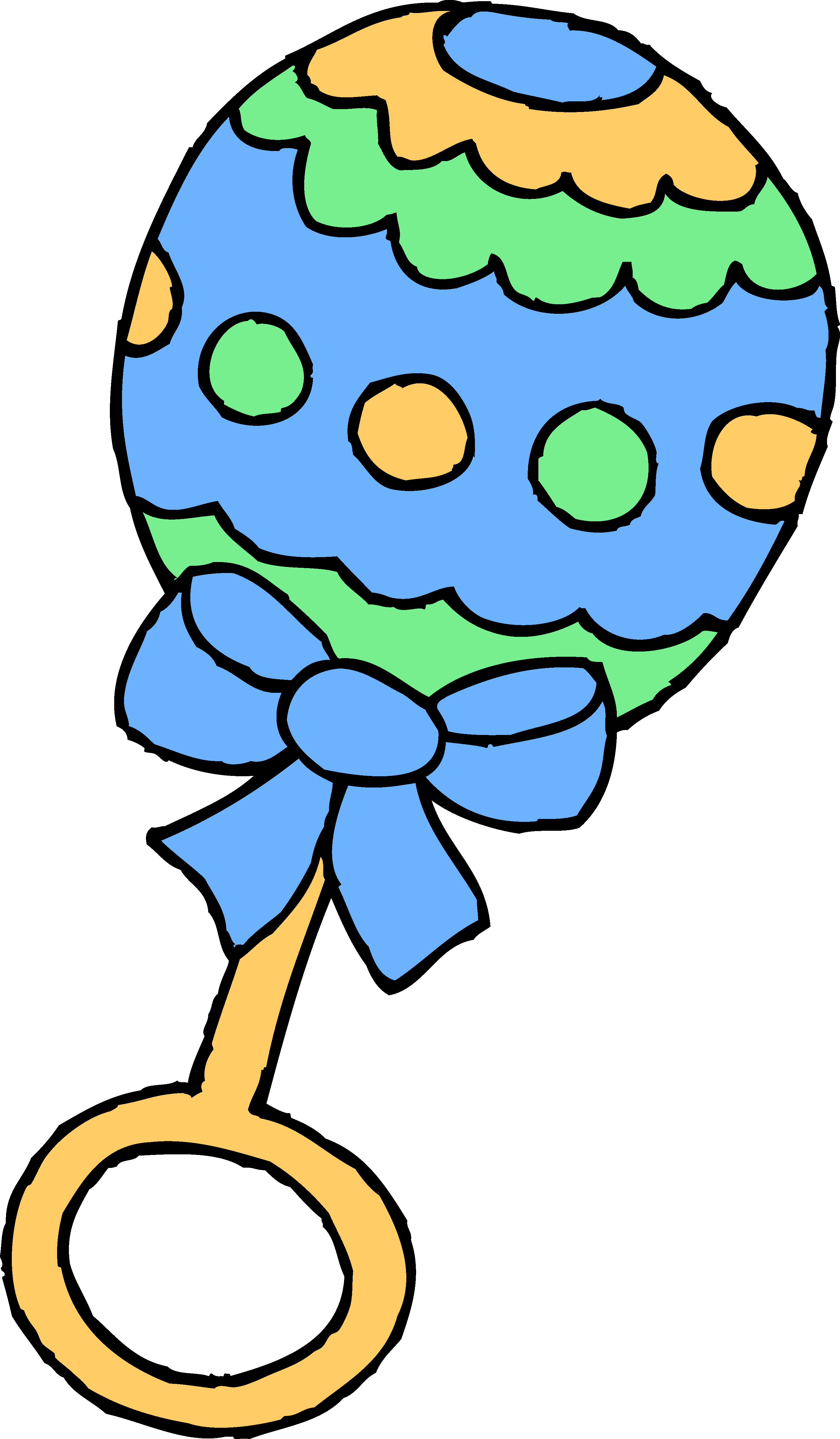 Baby Rattle Clipart #15272