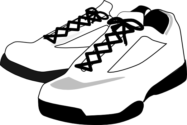 Baby shoes clipart tennis shoes clipart