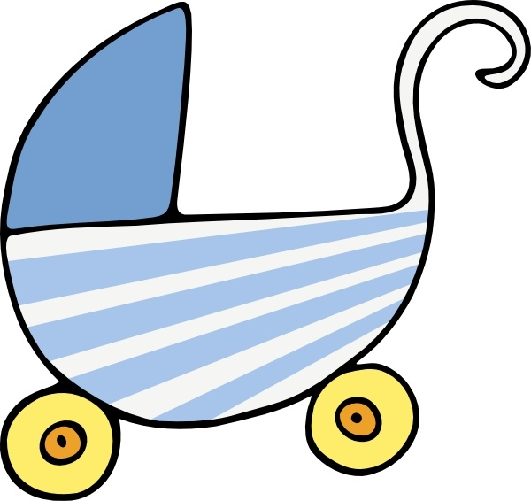Baby Stroller clip art