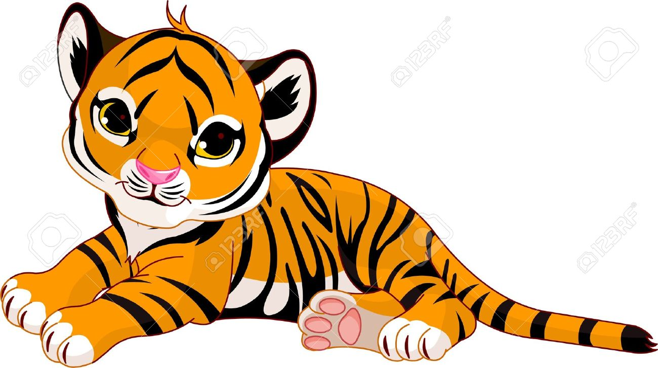 1300x727 Baby Tiger Clip Art Free u2013 Cliparts