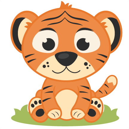 Baby Tiger Clipart 3