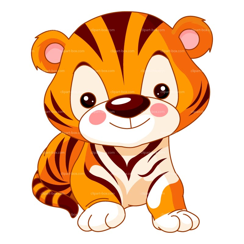 Terrific Baby Tiger Clipart 28 About Remodel Clipart With Baby Tiger Clipart