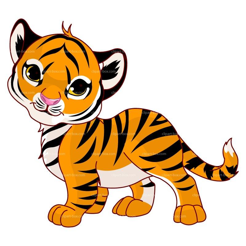 Tiger Cub Free Clipart #1