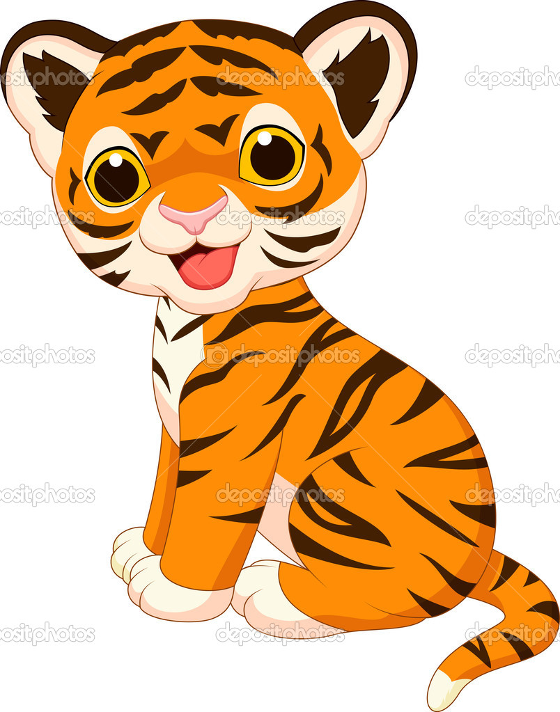 Tigres clipart baby tiger #2