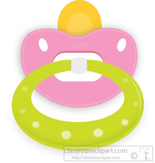 Baby With Pacifier Playing Clipart Size: 91 Kb From: Baby