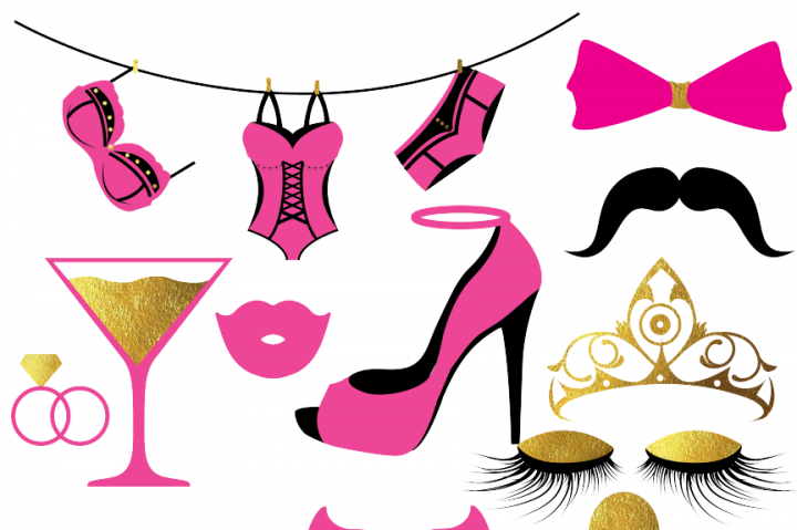 Bachelorette Party Clipart By Fantasy Cliparts
