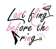 Bachelorette Party quote design